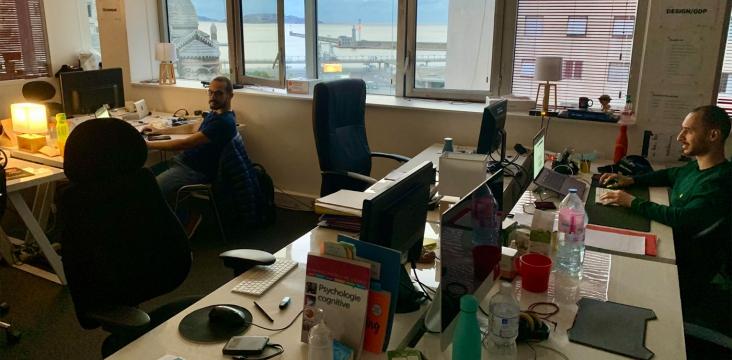 Image illustrant les bureaux de bluedrop.fr à Marseille