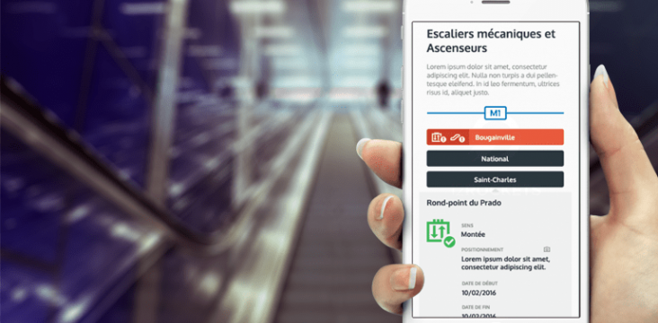 escalators application web RTM