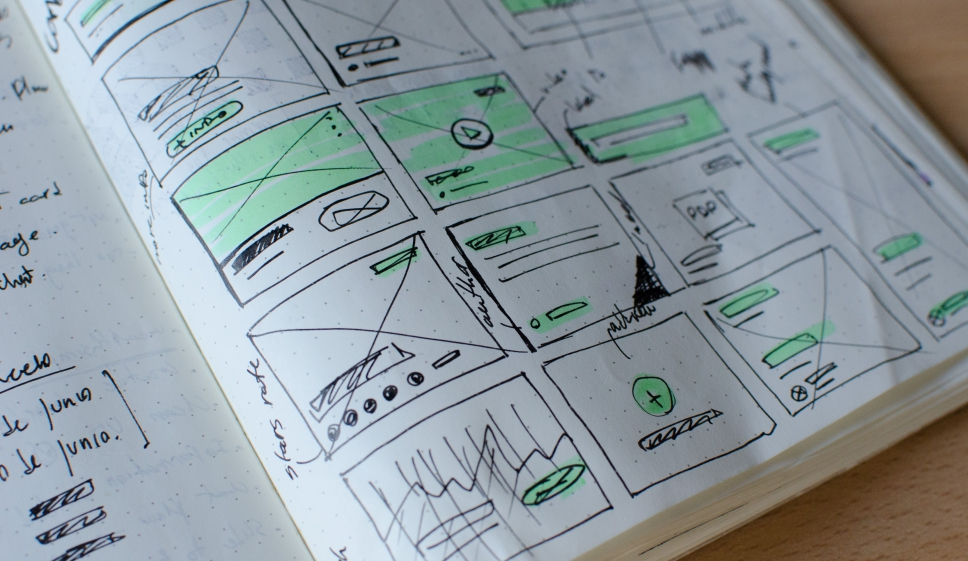 Illustration UX processus