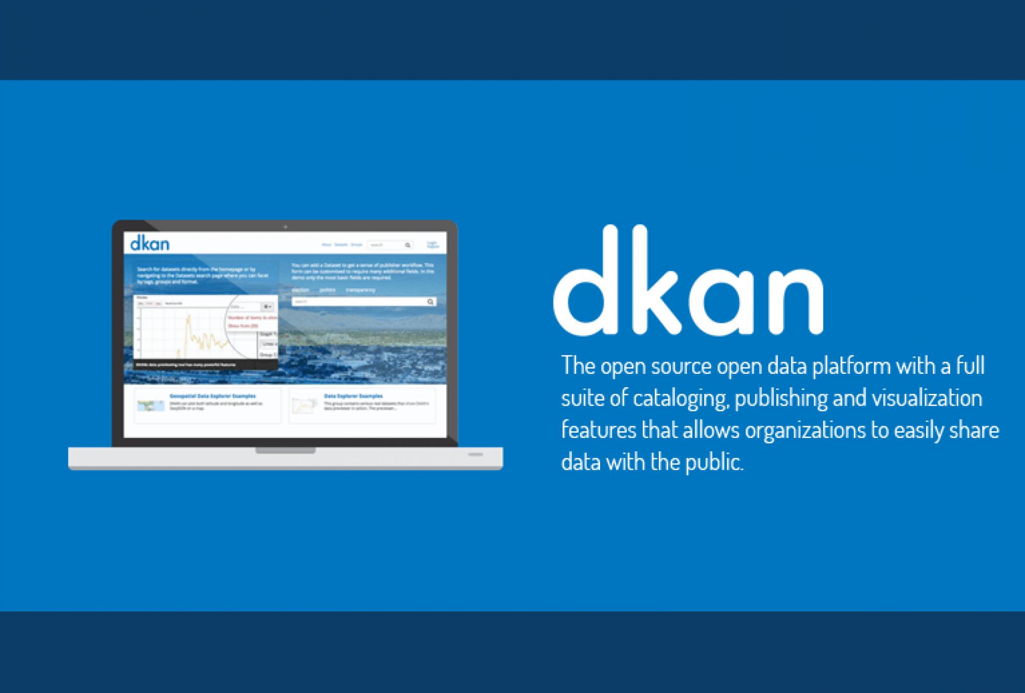 Drupal Dkan Open Data