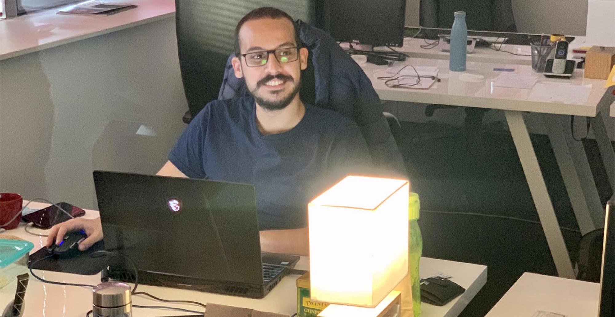 Photo du développeur Drupal à l'ouvrage