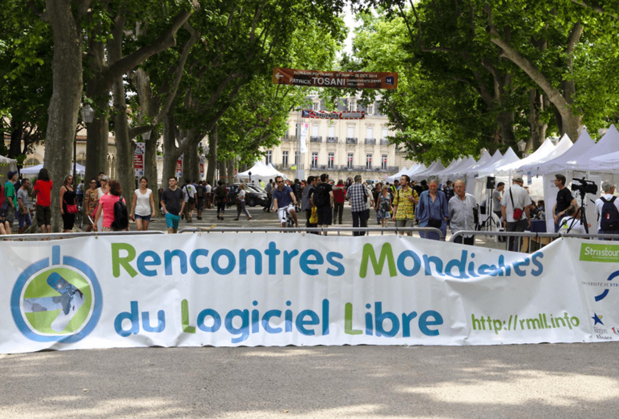 Crédits : Mathieu - Rencontres Mondiales du Logiciel Libre à Montpellier
